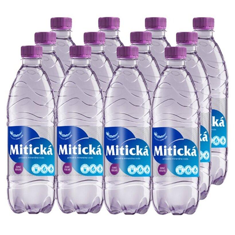Mitická Prírodná minerálna voda jemne perlivá 12 x 0,5 l