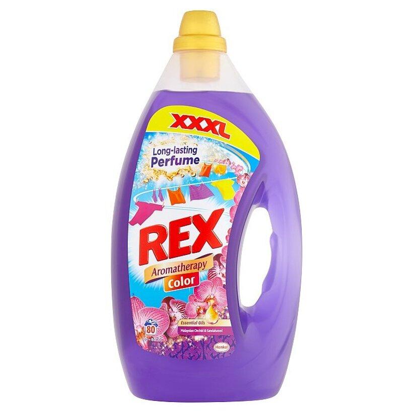 Rex Aromatherapy Color Malaysian Orchid & Sandalwood 80 praní 4,00 l