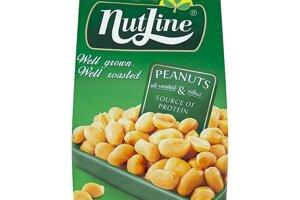 Nutline Pražené solené arašidy 400 g
