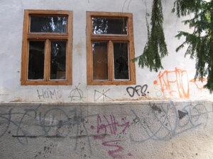 Dom spisovateľa Zechentera - Laskomerského - hanba Kremnice!