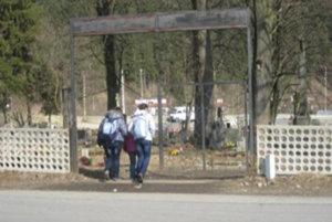 cintorin v Turzovke u tesca