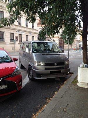 Zábrana proti parkovaniu na cyklopruhu