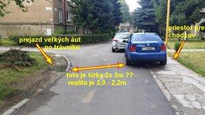 Parkovanie bráni prejazdu na ul. Baníckej