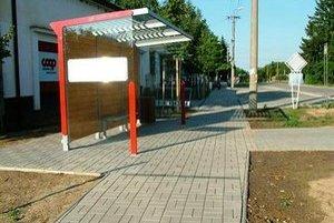 Zrušená autobusová zastávka