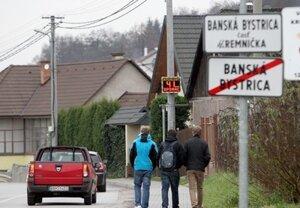 Chodník v Kremničke
