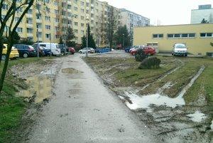 Plocha za predajnou CBA Tatranska 61
