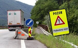 Od Biotiky cesta smerom na Šalkovú.