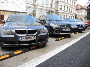 Zabrany na Palackeho pre auta