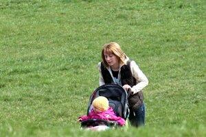 chodník pre mamičky s kočíkom z Rozkvetu na SNP