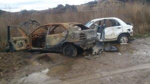 Vraky zdemolovaných áut