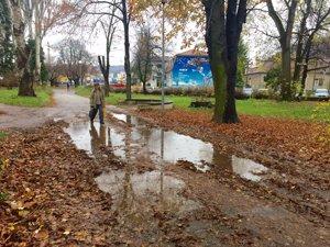Park v Trenčíne - hanba