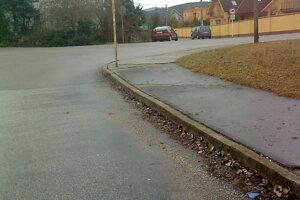 bezpečný prechod pre chodcov