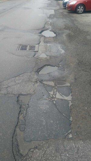 Cesta na tatranskej ulici