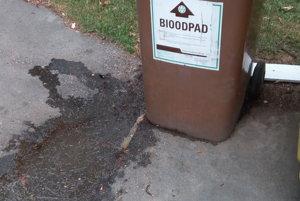 Odporne zapáchajúci bioodpad