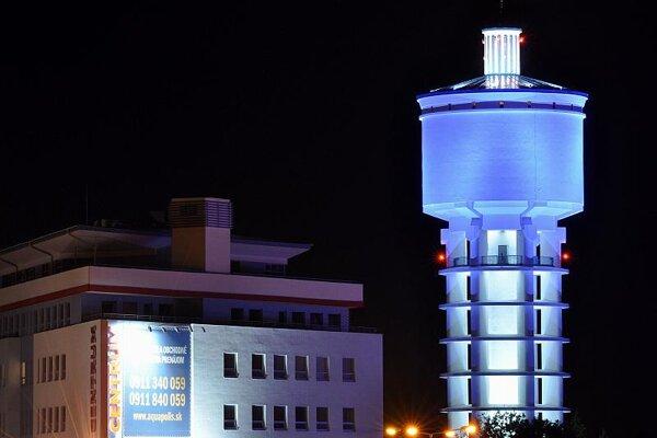 Trnava landmark: the city's water tower.