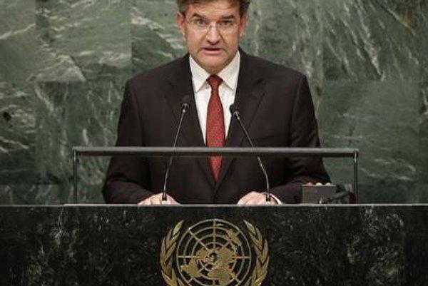 Slovak Foreign and European Affairs Minister Miroslav Lajčák