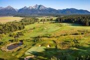 Slovak golf courses often boast astonishing vantage points.