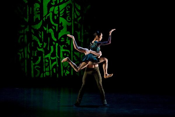 Duende: Reona Sato and Adrian Ducin.