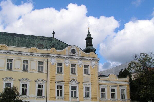 The Nitra Region House where also the Nitra Gallery resides (in Župné Square, downtown Nitra)