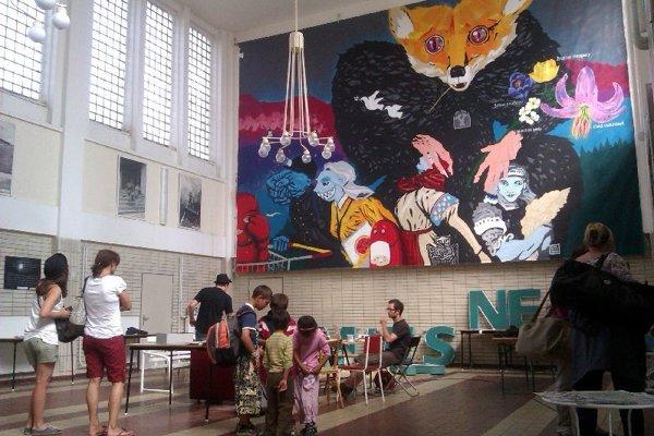 Work of Erik Šille in Banská St a Nica