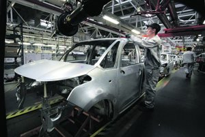 The car industry is a mainstay of the Slovak economy