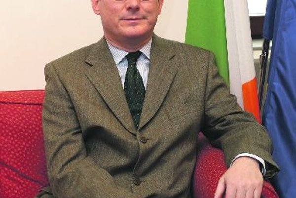 Irish Ambassador Brian McElduff