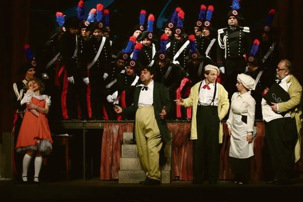 Rossini's opera The Barber of Seville.
