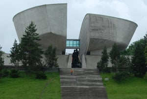 The Museum of the Slovak National Uprising in Banská Bystrica.