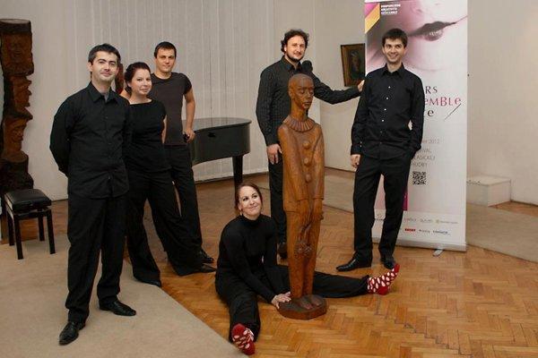 Quasars ensemble (here with soprano Eva Šušková, C) will perform at the Ars Nova festival of classical music in Košice