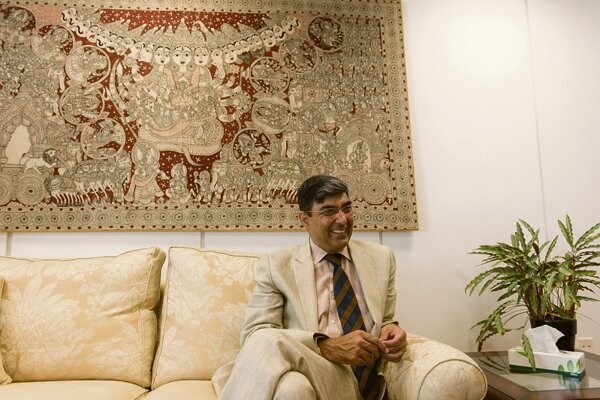 Ambassador of India Rajiva Misra