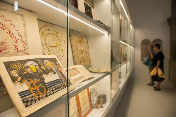 The permanent exhibition in the Jewish Community Museum in Bratislava.