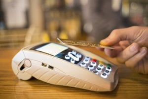 Contactless payments are increasing in popularity.