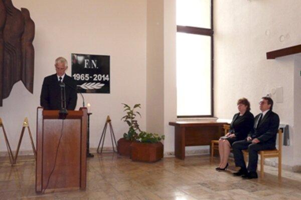 Contesting funeral ceremony by ZPOZ Hnúšťa