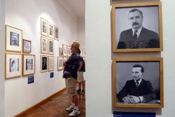 Exhinition of VŠVÚ in Medium Gallery