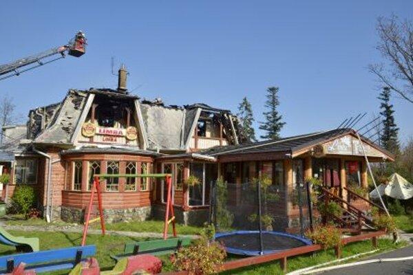 The Limba boarding house burtn down.