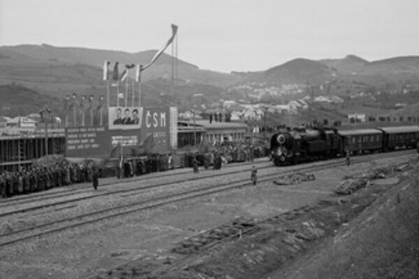 The Railway Track of Youth was opened in October 1949.