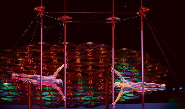 Cirque du Soleil 2012: Saltimbanco
