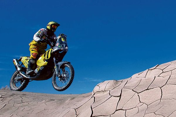 Štefan Svitko, easy rider, at Dakar 2015.