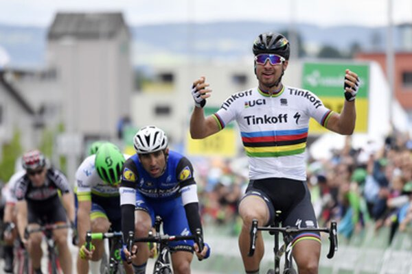 Sagan wins 2nd stage of Tour de Suisse.