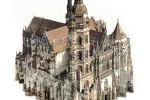 St elizabeth's Cathedral in Košice