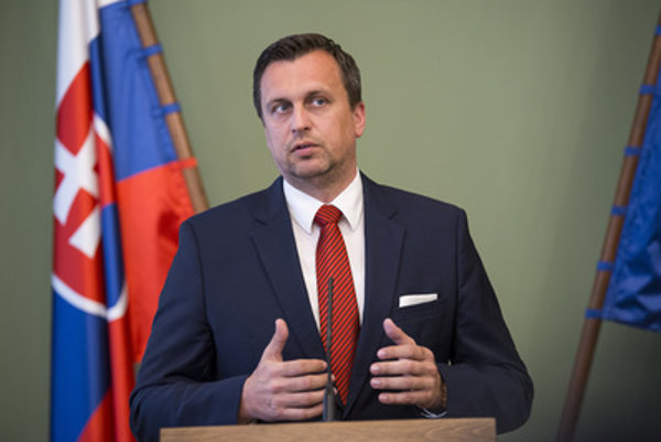 Speaker of Parliament Andrej Danko