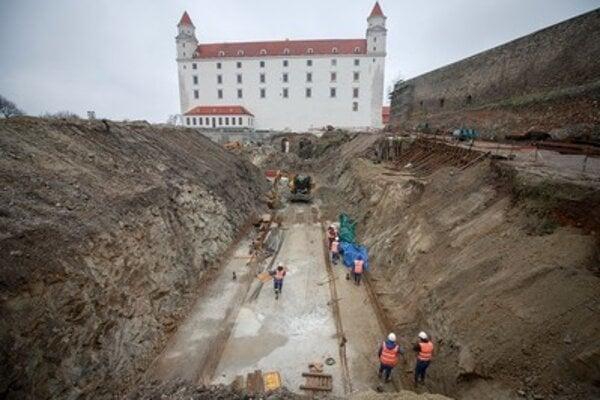 Bratislava Castle undergoes reconstruction