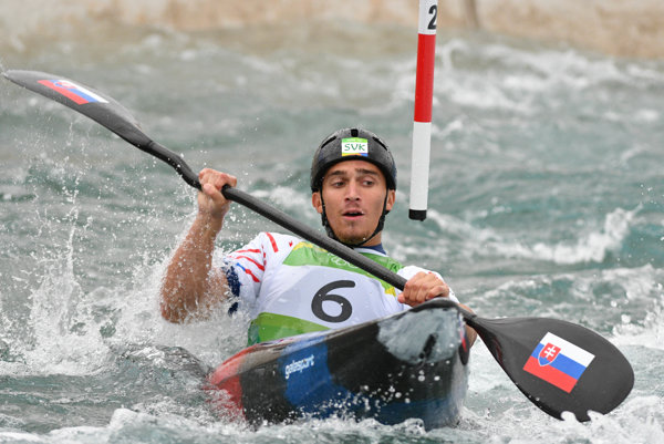Jakub Grigar in the Olympic semifinals