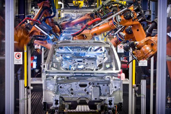 Production in Volkswagen Slovakia.