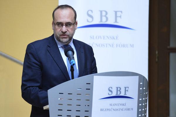 Slovakia's Permanent Representative to the EU Peter Javorčík