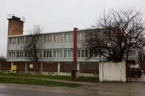 The offices of the Čistý deň facility in Galanta