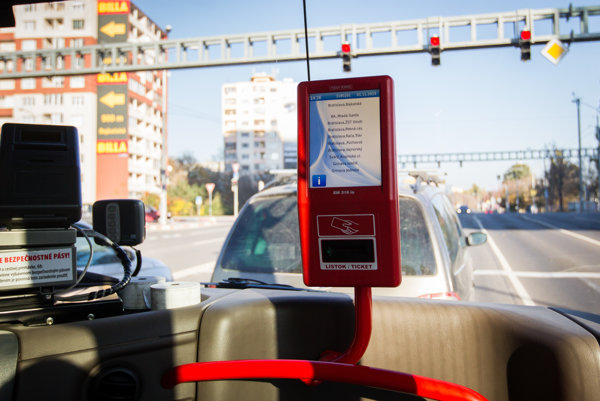 New ticket machines are now part of vehicles.