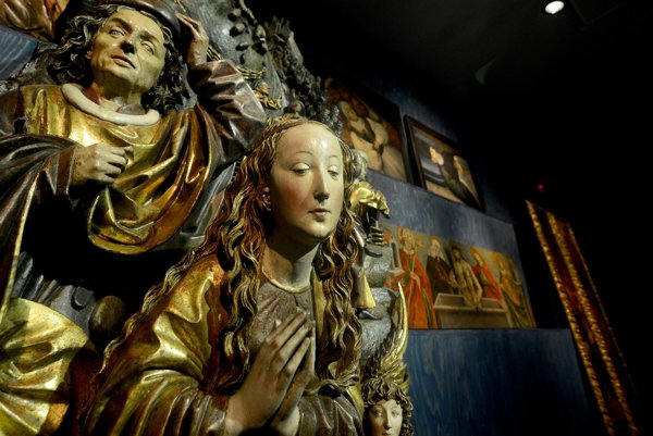 Gothic and Baroque art in the Nestex exposition of SNG