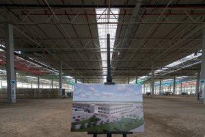 The future returns centre of Amazon in Sereď.