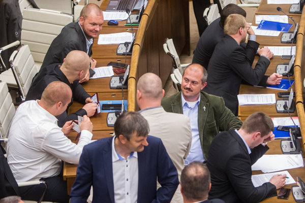 Extremists are sitting in the Slovak parliament.